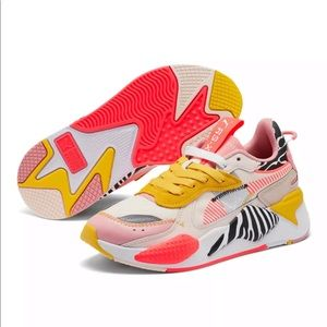 Puma women's unexpected mixes rs-x sneakers